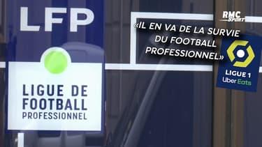 """L1/L2 : La LFP demande """"un plan de soutien d'urgence"""" pour sauver le foot français"""