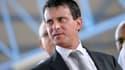 Manuel Valls en visite en Guadeloupe en tant que ministre de l'Intérieur, le 18 octobre 2013