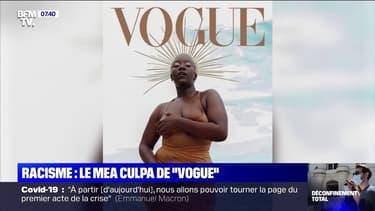 """Le """"Vogue challenge"""", les internautes interpellent le célèbre magazine américain sur son manque de diversité"""