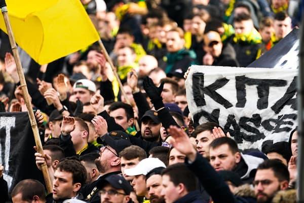 Les supporters de la Brigade Loire