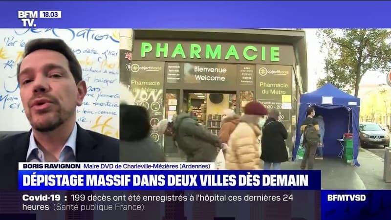 Dépistage massif: le maire de Charleville-Mézières estime qu'