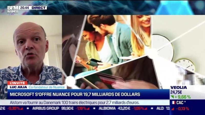 Luc Julia (Nuance) : Microsoft s'offre Nuance pour 19,7 milliards de dollars - 12/04