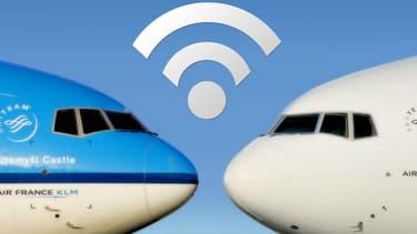 Ce sont 68 Boeing 777 et 15 Airbus A330 d'Air France ainsi que 29 Boeing 777 et 12 Airbus A330 de KLM Royal Dutch Airlines, qui  commenceront à être équipés du WiFi dès la fin de l'année 2017,
