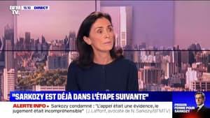 """Me Jacqueline Laffont ne """"doute pas"""" que Nicolas Sarkozy sera relaxé en appel"""