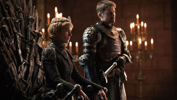 "Lena Headey et Nicolaj Coster-Waldau dans la série ""Game of Thrones"""