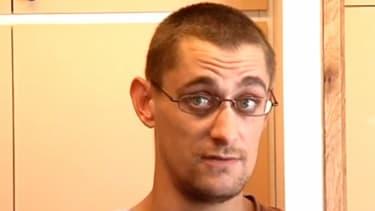 Nicolas Chafoulais le 25 septembre dernier, avant que son ex-femme, alors en garde à vue, passe aux aveux.