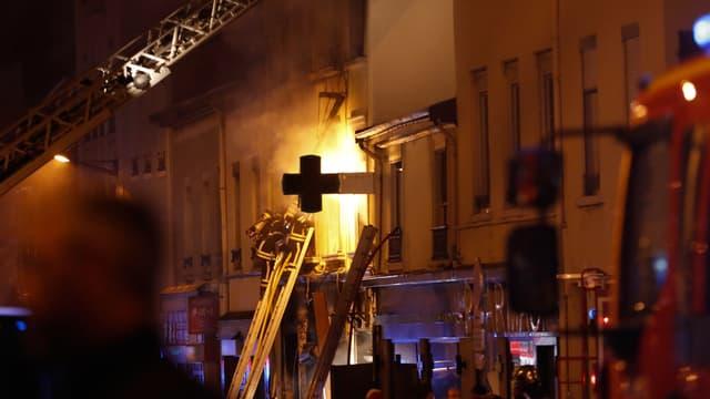 L'incendie a coûté la vie à deux personnes le 9 février 2019.