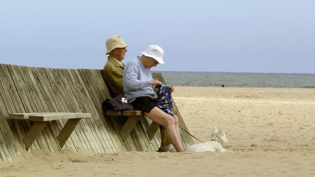 Les retraités français ont le temps de savourer leur vieux jours