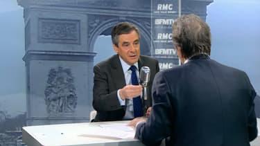 François Fillon était l'invité de BFMTV et RMC ce mercredi.