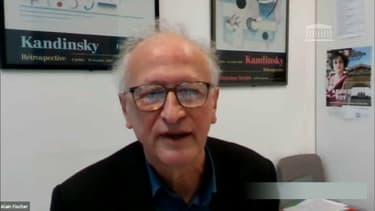 Alain Fischer, président du Conseil d'orientation de la stratégie vaccinale instauré par le gouvernement.