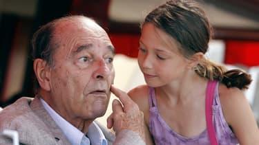 Jacques Chirac a été désigné président le plus sympathique de la Ve République.