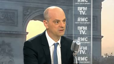 Jean-Michel Blanquer, lundi matin sur BFMTV et RMC.