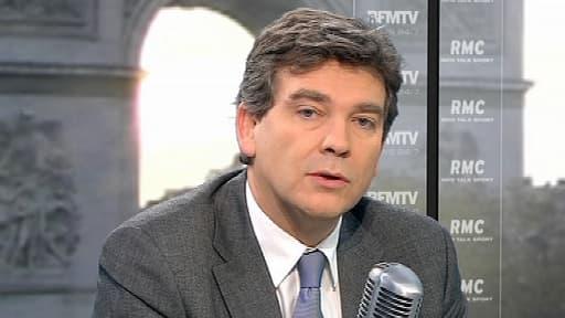 Aranaud Montebourg, le ministre du Redressement productif