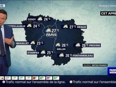 Météo Paris-Ile de France du 9 mai: Des averses ponctuelles