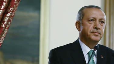 Le président turc Recep Tayyip Erdogan, le 22 juillet dernier.