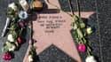 L'étoile de Carrie Fisher sur le Walk of Fame, le 28 décembre 2016