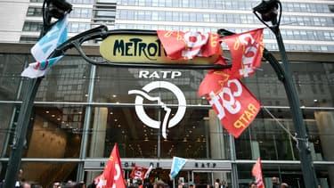 Des manifestants de la RATP contre la réforme des retraites, en septembre 2019 à Paris (illustration).