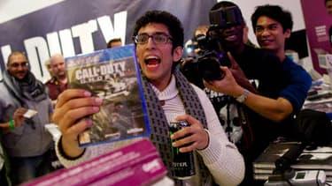 La sortie du dernier opus de Call of Duty a déjà fait un heureux à Londres.