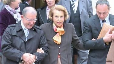 L'héritière de L'Oréal, Liliane Bettencourt.