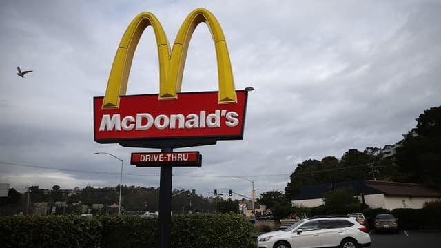 McDonald's est confronté à une baisse continue de ses ventes.
