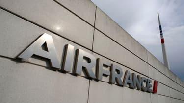 Le climat social est tendu à Air France (image d'illustration)