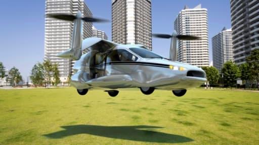 Le TF-X, la voiture volante mise au point par Terrafugia.