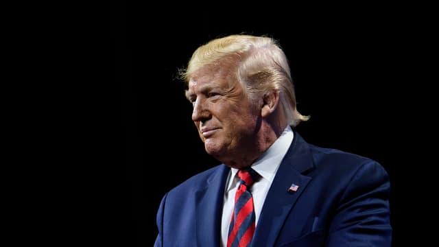 Donald Trump le 28 octobre 2019 à Chicago