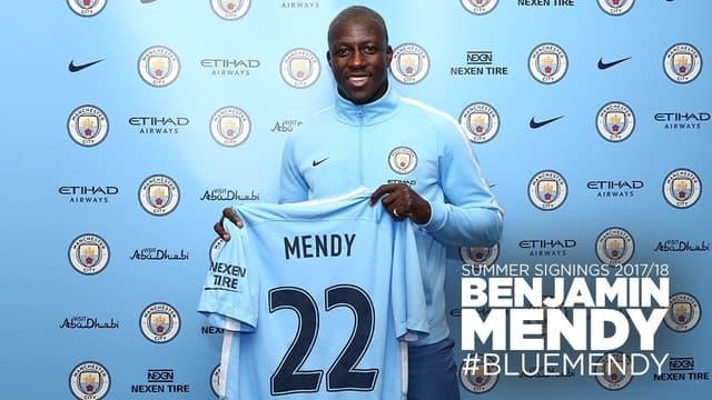Sans même jouer, Benjamin Mendy a déjà été bien accueilli par les légendes de la Premier League.