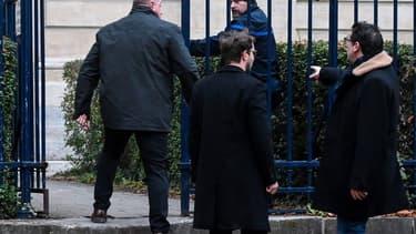 Willy Bardon devant le tribunal d'Amiens pour l'ouverture de son procès en première instance, le 21 novembre 2019