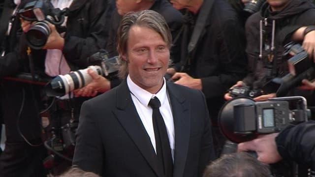 Le très charismatique Mads Mikkelsen, premier rôle de La chasse.