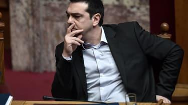 """Alexis Tsipras a appelé à voter """"non"""" au référendum qui se tiendra dimanche en Grèce."""