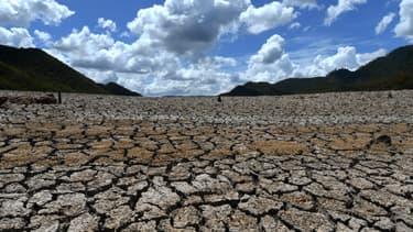 Le barrage de La Concepcion, au Honduras, qui a déclaré en septembre l'état d'urgence suite à de très forte sécheresses qui ont touché tout le pays