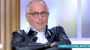 """Fabrice Luchini dans """"C à vous"""" le 19 septembre 2020."""