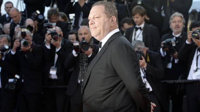 Harvey Weinstein à Cannes le 24 mai 2013