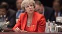 Theresa May n'entend pas céder sur la frontière nord-irlandaise.