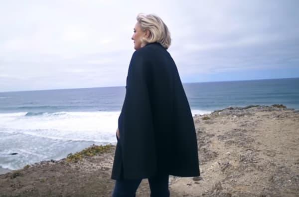 Capture du clip de campagne officiel de Marine Le Pen.