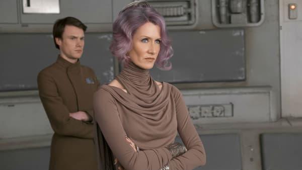 "Laura Dern dans ""Stars Wars - Les Derniers Jedi"""