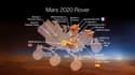 """Mars 2020 Rover, avec sa """"supercam"""" française."""
