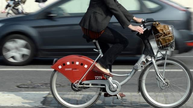 """La métropole de Lyon, lance son projet de """"réseau express vélo""""."""