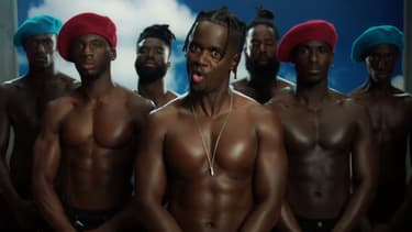 """Black M dans le clip de """"Bon"""", son dernier single, publié sur YouTube le 3 juin 2019."""
