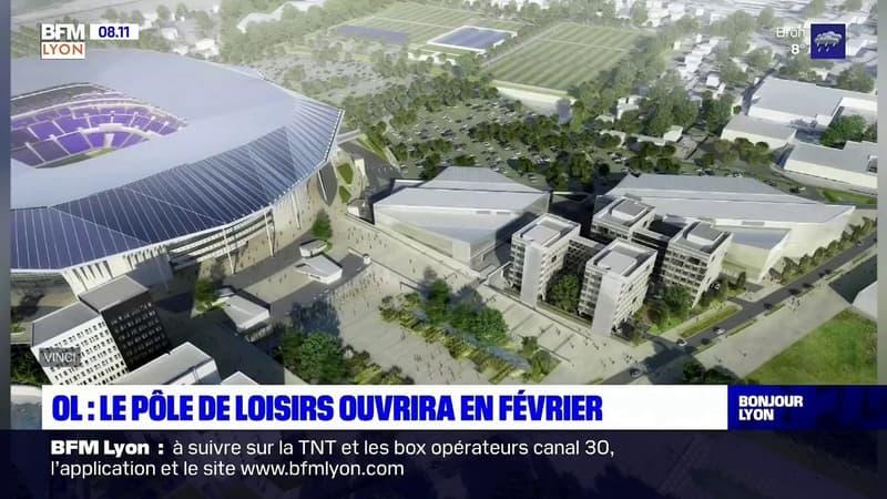 Décines-Charpieu: le pôle de loisirs OL Vallée ouvrira en février 2021