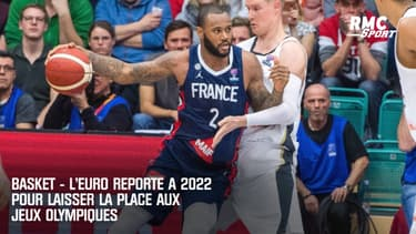 Basket : L'Euro reporté à 2022 pour laisser la place aux Jeux Olympiques