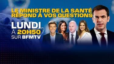 Olivier Véran invité de BFMTV.