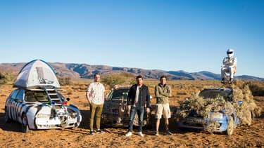 Le prochain road-trip de Top gear France emmènera le 1er novembre Le Tone, Philippe Lellouche, Bruce Jouanny et Le Stig vers l'Afrique du Sud.