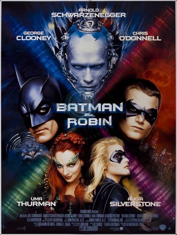 L'affiche de Batman & Robin