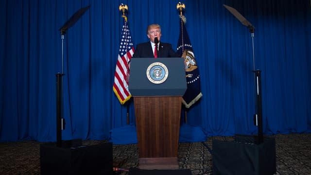 Donald Trump, le 6 avril 2017.
