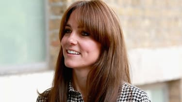 Kate Middleton en visite au centre Anna Freud à Londres le 17 septembre 2015.