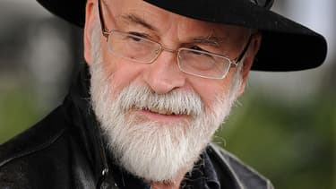 Terry Pratchett, en octobre 2010.