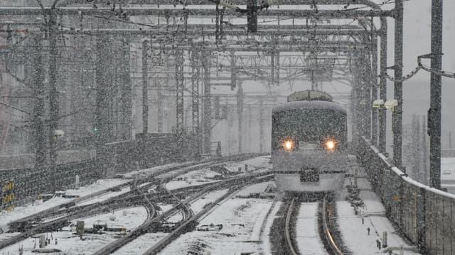 La neige a perturbé le week-end dans le nord du Japon