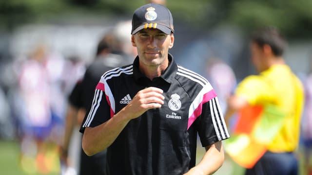 Zinedine Zidane comme coach du Real, ça le fait quand même, non ?